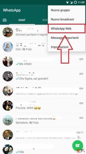 profili whatsappp senza foto