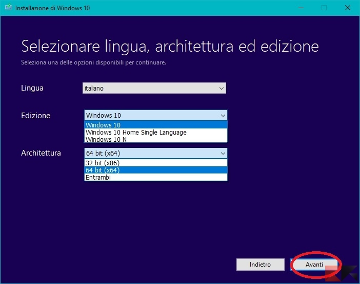 windows 10 ISO download microsoft