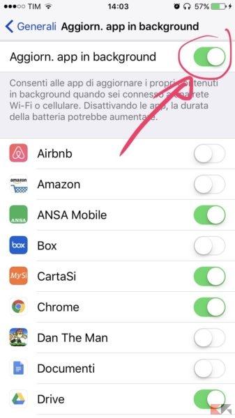 iphone si scarica