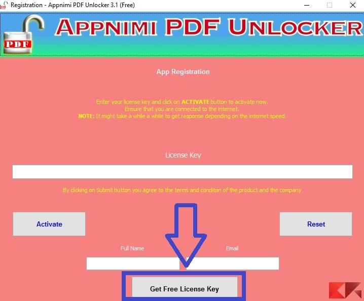 come rimuovere protezione PDF - PDF Unlocker