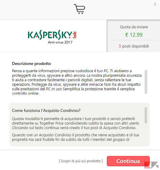 Together Price - acquisto antivirus