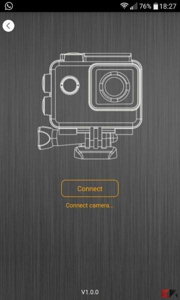 Action Cam Andoer SO91 4K - screen