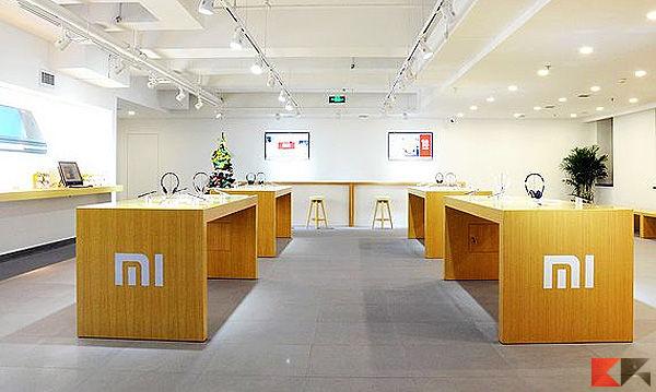 Xiaomi store negozi fisici