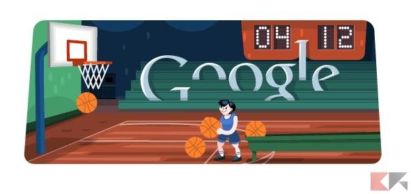 basket doodle google