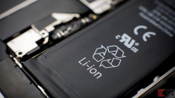 durata della batteria al litio