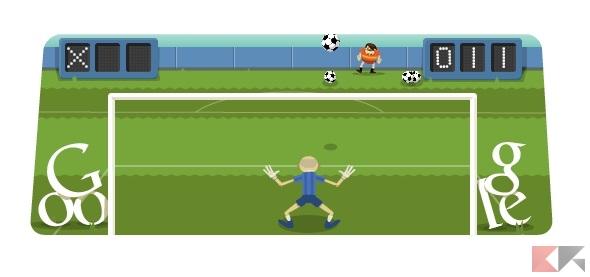 google doodle calcio