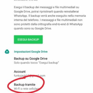 risparmiare connessione whatsapp