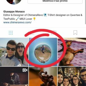 cancellare foto video Instagram