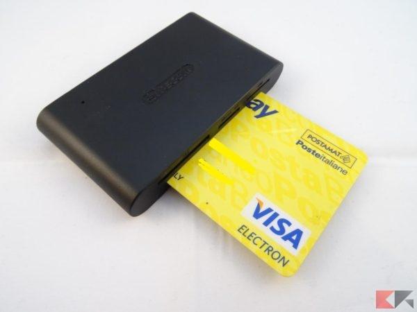 lettore schede SITECOM memoria SIM ID