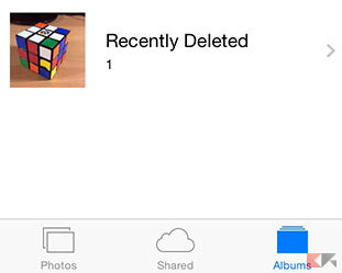 recover recently deleted photos ios8