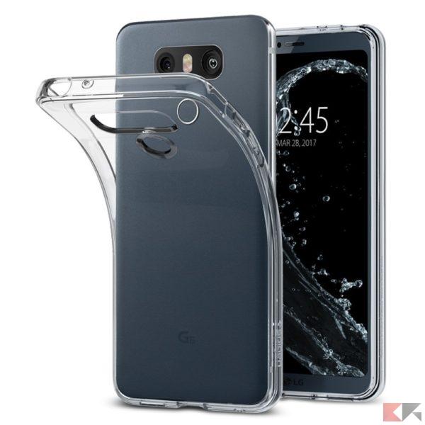 cover LG G6 - Spigen Clear Case