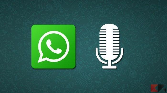 WhatsApp dove salva note audio WhatsApp