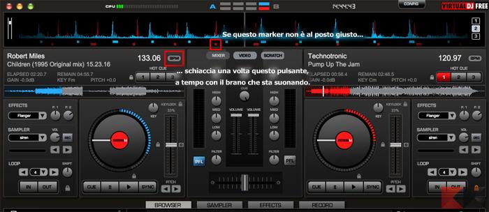 programma per mixare le canzoni