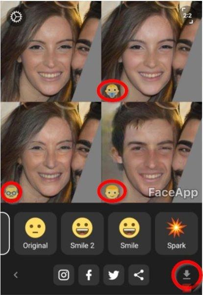 FaceApp: trasforma le tue foto - ChimeraRevo - Il miglior