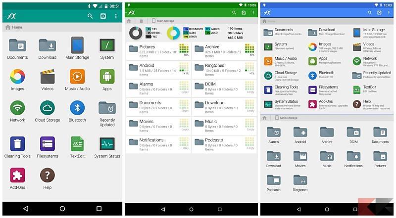 I migliori file manager Android
