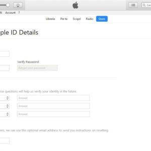 Create ID Apple