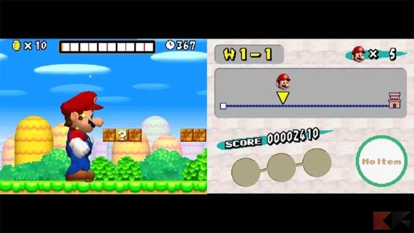 Emulatori Nintendo DS per Android: Nds4droid