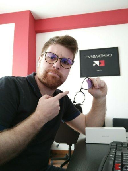 occhiali anti luce blu Nowave