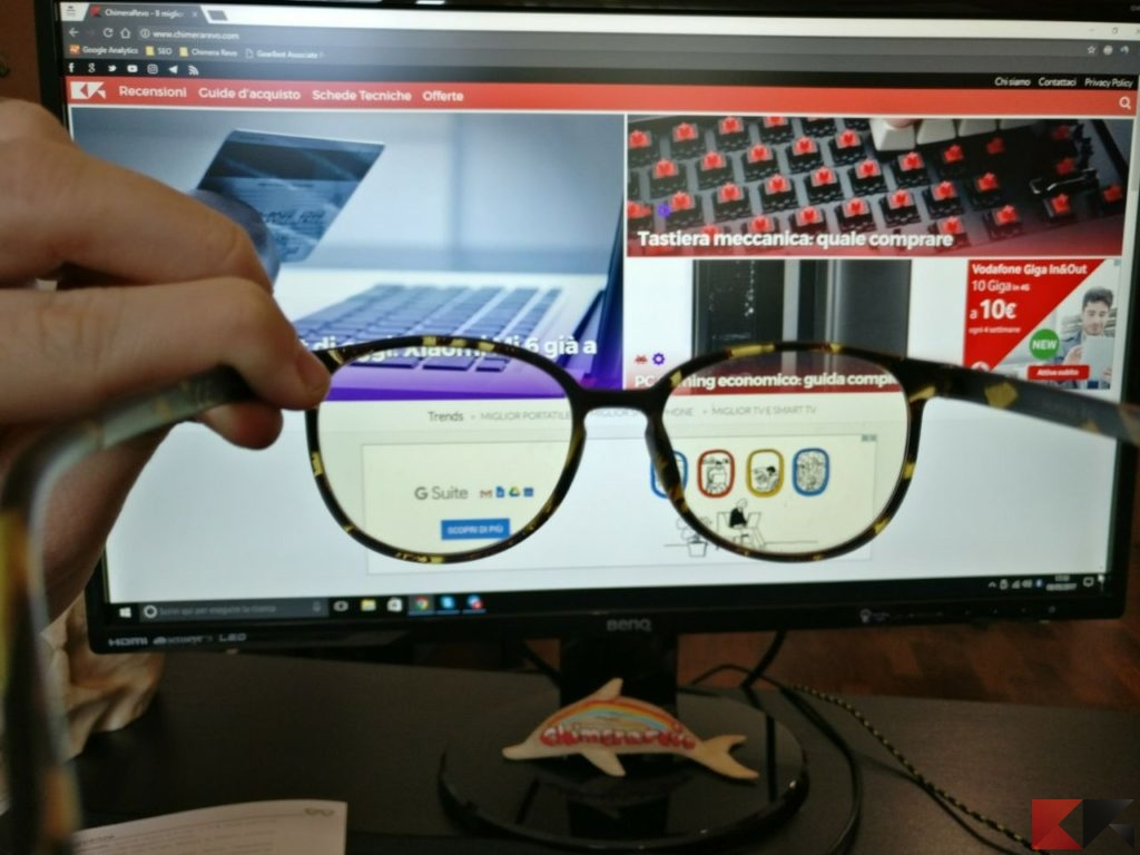 occhiali anti luce blu Nowave (3)