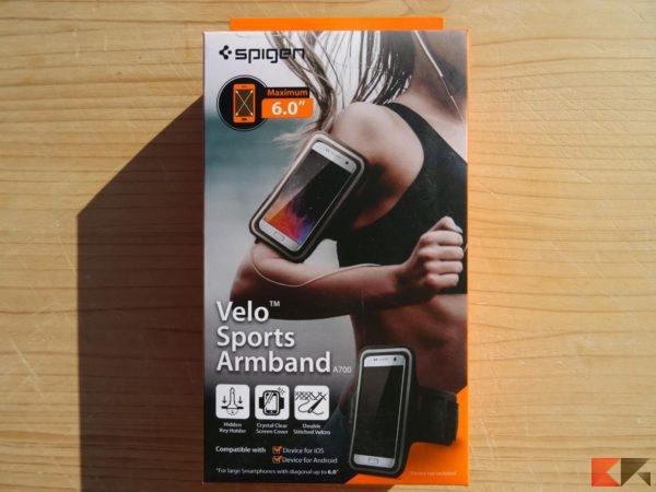 Spigen Velo Sports A700 fascia da braccio per smartphone universale