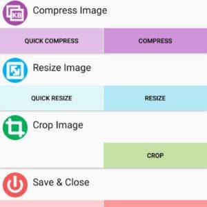 Ridurre dimensioni foto Android