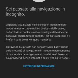 incognito Android