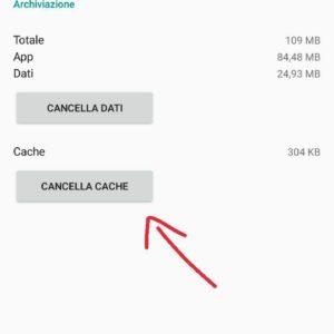 Differenza cache dati Android