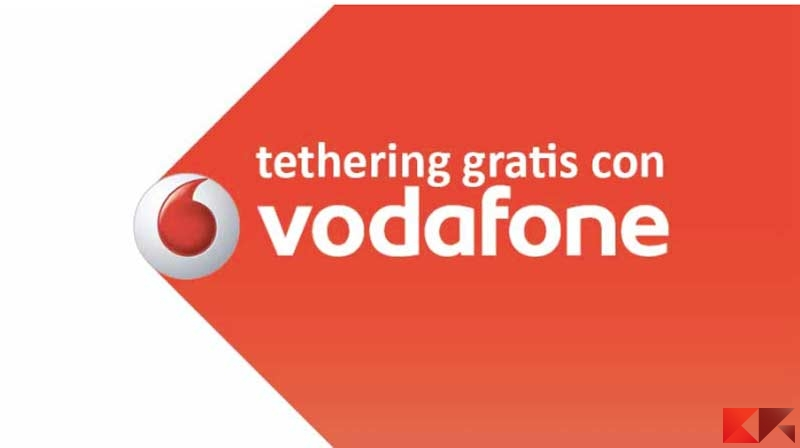 Come usare il tethering senza pagare Vodafone