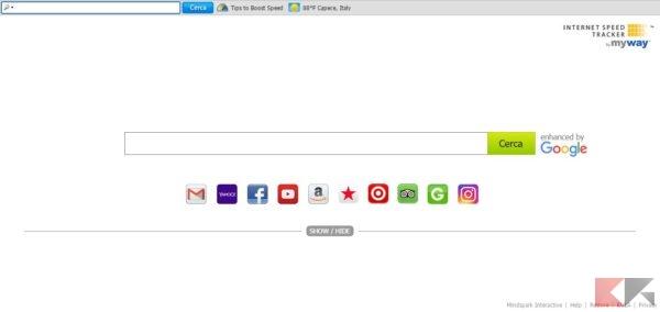 chrome toolbar