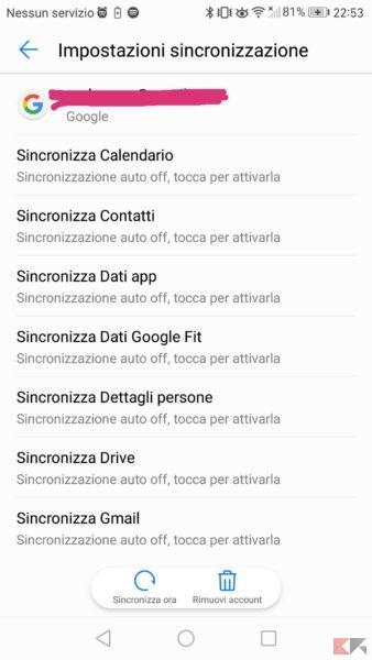trasferire contatti iphone su android