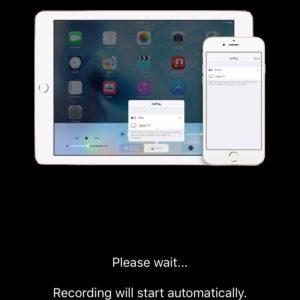 registrare schermo iphone