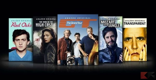 Serie Hd in streaming: Amazon prime video