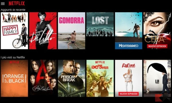 Serie Hd in streaming! Netflix