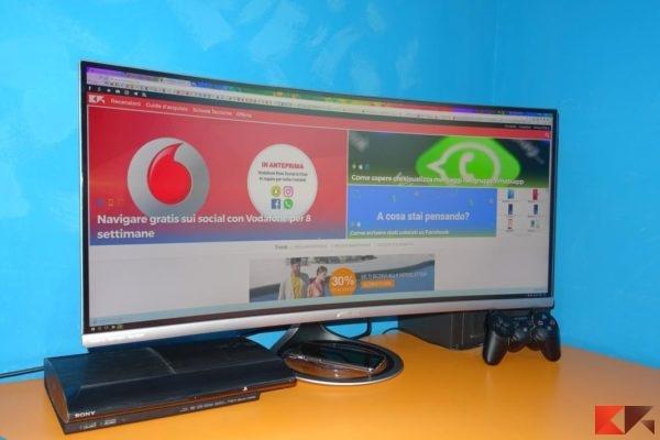 Asus MX34VQ monitor curvo 4K UWQHD