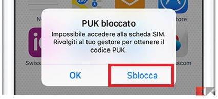 PUK iPhone