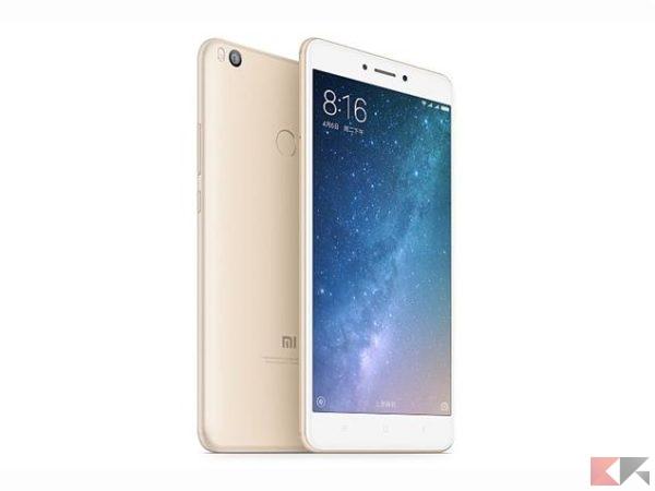 xiaomi mi max 2 - migliori smartphone cinesi con banda 20