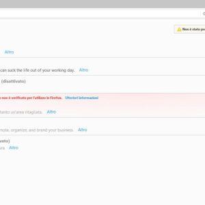 bloccare sito Firefox