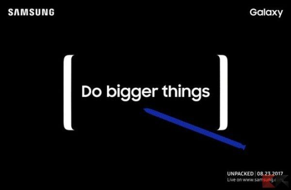 Samsung Galaxy Note 8 galaxy note 8 prezzo, galaxy note 8 scheda tecnica, galaxy note 8 immagini, galaxy note 8 uscita, galaxy note 8 disponibilità
