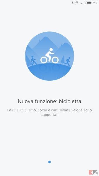 Mi Fit 3.0: ora è possibile monitorare la vostra attività in bici