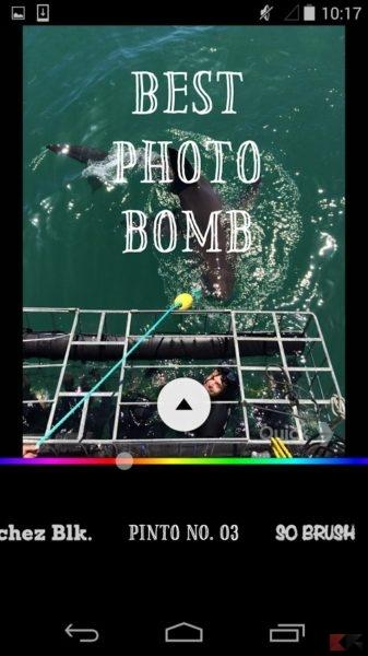 app per scrivere sulle foto 2