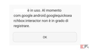 errore app google fix