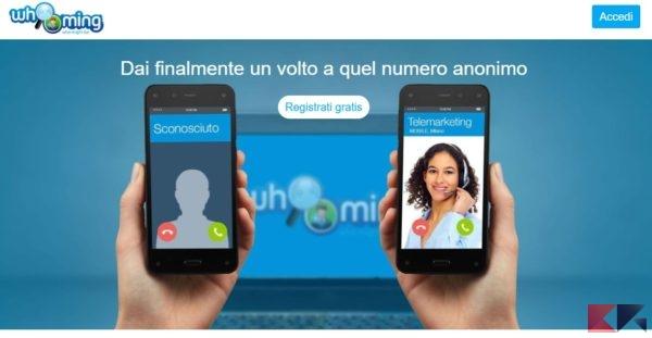 Scoprire a chi appartiene un numero di cellulare anonimo - Whooming