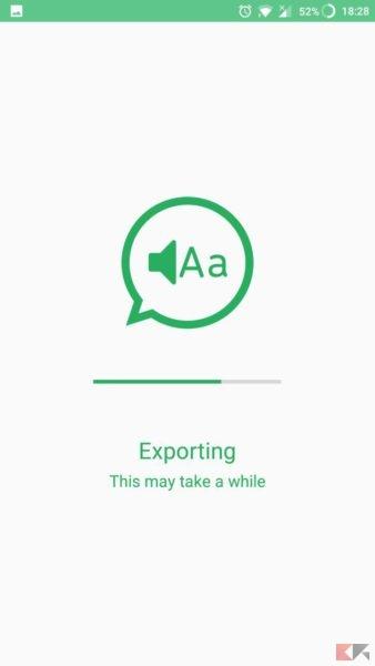 Convertire messaggi vocali WhatsApp in testo