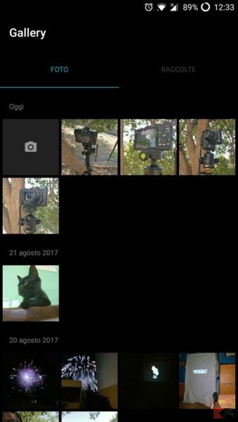 Come nascondere foto, video e file su OnePlus