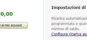 ricarica account amazon