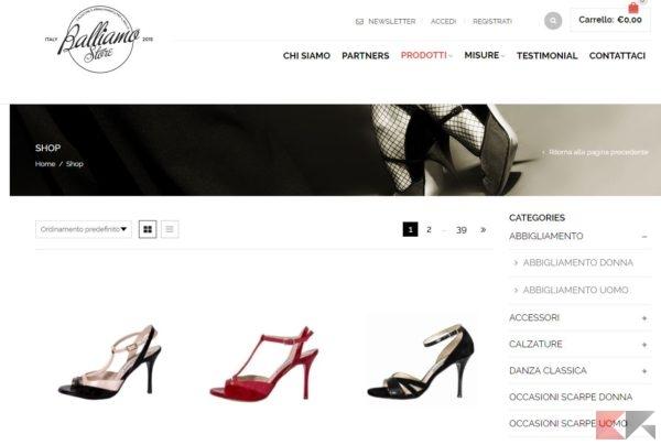 siti per acquistare on line abbigliamento