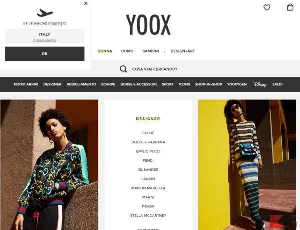 cc3d6255dbeeca Principalmente YOOX è utilizzato per acquistare abbigliamento, ma vogliamo  consigliarvelo lo stesso perché mette a disposizione anche tantissimi tipi  di ...
