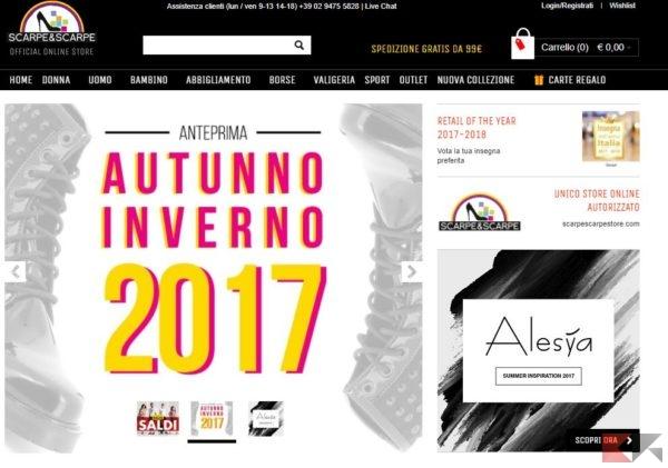 dfb71ef521a165 I migliori siti per comprare scarpe online - ChimeraRevo