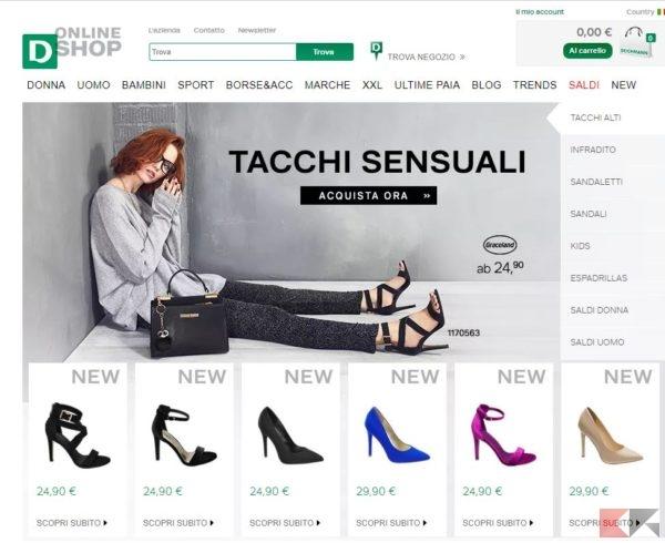 migliori siti per comprare scarpe online