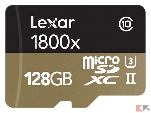 Lexar Professional 1800x - MicroSD 128 GB: guida all'acquisto